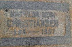 Mathilda <i>Seim</i> Christiansen