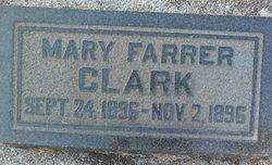 Mary <i>Farrer</i> Clark