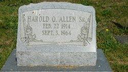 Harold Quentin Allen
