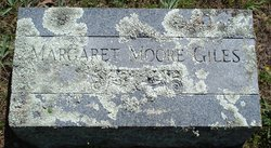 Margaret <i>Moore</i> Giles