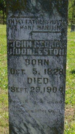 John George Uncle George Huddleston