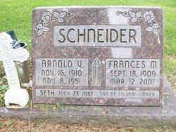 Frances Mildred <i>Wickman</i> Schneider
