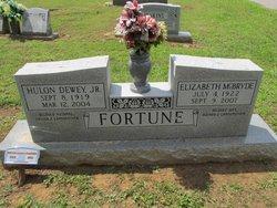 Elizabeth <i>McBryde</i> Fortune