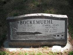 Carol Jean <i>Metcalf</i> Bockemuehl