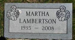 Martha <i>Schreiber</i> Lambertson