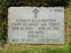Capt George Ellis Batten