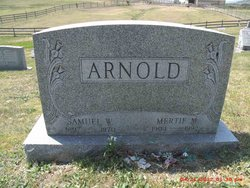 Mertie M <i>Snook</i> Arnold