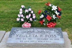 Yeuleta F. Foss