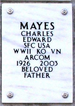Charles Edward Mayes