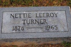 Nettie Leroy <i>Atwood</i> Turner