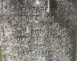 Elizabeth <i>Whitehead</i> Grimes