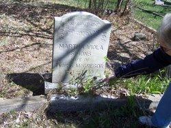 Martha Viola <i>Simons</i> McGregor