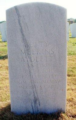 Betty Betsy <i>Meekins</i> Aydlett