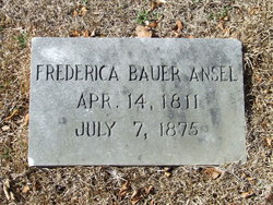 Frederica <i>Bauer</i> Ansel