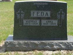 Anna Margaret <i>Dattler</i> Feda