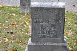 Mary Shillito <i>Sign</i> Anderson