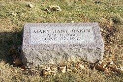 Mary Jane <i>Rigsby</i> Baker