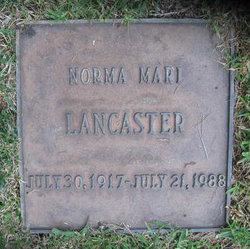 Norma Mari <i>Anderson</i> Lancaster