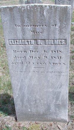 Elizabeth B Holmes