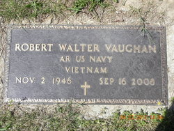Robert Walter Bobby Vaughan