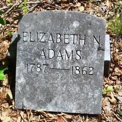 Elizabeth <i>Nance</i> Adams