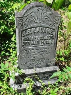 Jeremiah Burns Nance Adams