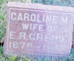 Caroline Marie 'Lena' <i>Schultz</i> Crewe