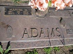 Manuel M. Adams
