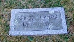 Andrus L Coleman