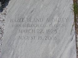 Hazel <i>Bland</i> Ahmuty