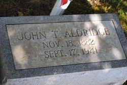 John T. Aldridge