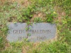 Ged E Baldwin