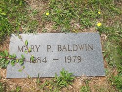 Mary P Baldwin