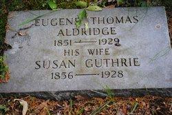 Susan <i>Guthrie</i> Aldridge