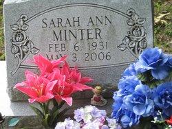 Sarah Ann <i>Morgan</i> Minter