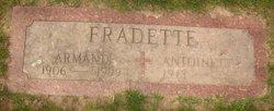 Antionette <i>Dubois</i> Fradette