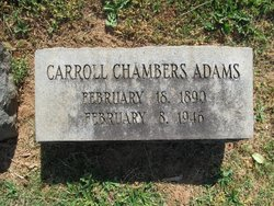Carroll Chambers Adams