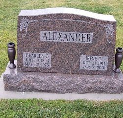 Irene <i>Welch</i> Alexander Myers