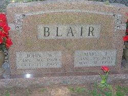 John W Blair