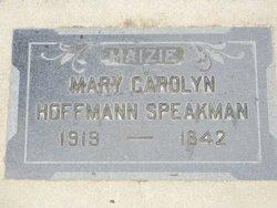 Mary Carolyn <i>Hoffman</i> Speakman