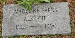 Madeline I <i>Parks</i> Albright