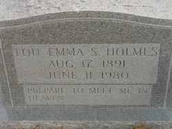 Lou Emma <i>S.</i> Holmes