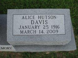 Alice <i>Hutson</i> Davis