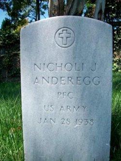 PFC Nicholi J Anderegg