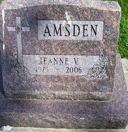Jeanne V <i>Barnhart</i> Amsden