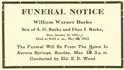 William Warner Burks