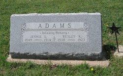 Matilda Jane Jennie <i>Sturdevant</i> Adams