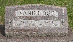 Hosea Allen Sandridge