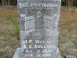 Jane Priscilla <i>Matthews</i> Bullock