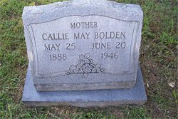 Callie May <i>McCord</i> Bolden